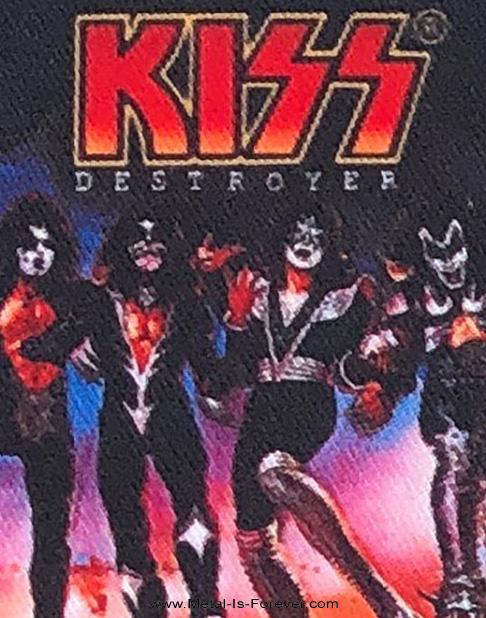 KISS (キッス) DESTROYER 「地獄の軍団」 アイロン・ワッペン