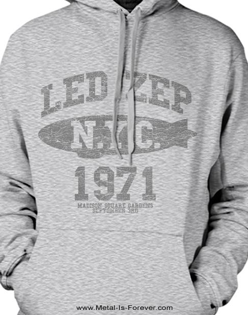LED ZEPPELIN (レッド・ツェッペリン) LZ COLLEGE 「LZ・カレッジ」 パーカー(グレー)