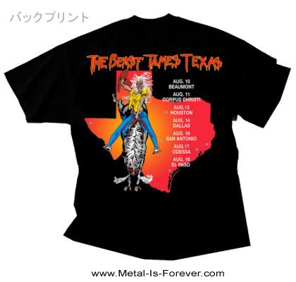IRON MAIDEN (アイアン・メイデン) THE BEAST TAMES TEXAS 「ザ・ビースト・テイムズ・テキサス」 1982年ツアー Tシャツ