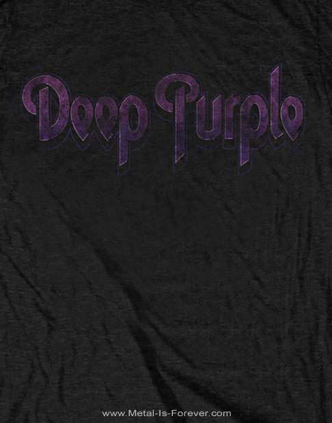 DEEP PURPLE -ディープ・パープル- VINTAGE LOGO 「ヴィンテージ・ロゴ」 Tシャツ