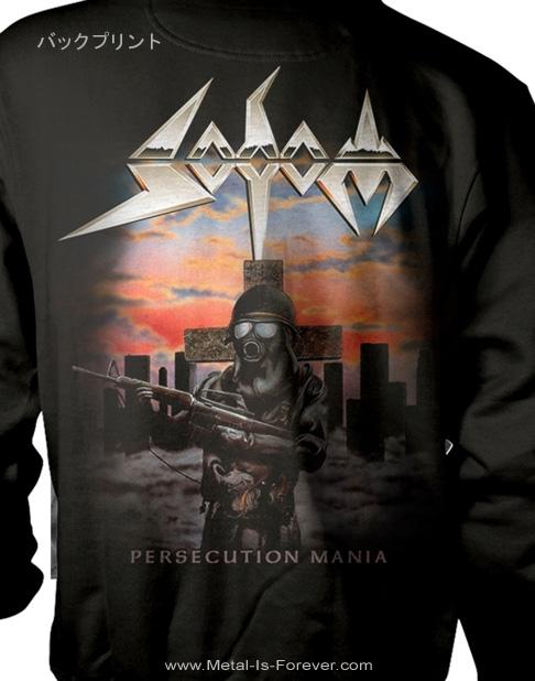 SODOM -ソドム- PERSECUTION MANIA 「パーセキューション・マニア」  パーカー