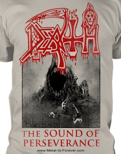 DEATH -デス- THE SOUND OF PERSEVERANCE 「ザ・サウンド・オブ・パーサヴィランス」 Tシャツ(ヴィンテージ・ウォッシュ/オフホワイト)