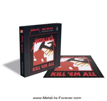 METALLICA -メタリカ- KILL 'EM ALL 「キル・エム・オール〜血染めの鉄槌(ハンマー)」 500ピース ジグソーパズル