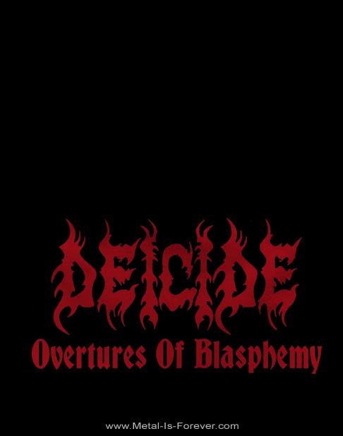 DEICIDE -ディーサイド- OVERTURES OF BLASPHEMY 「オーヴァーチュアズ・オブ・ブラスフェミー」 ニットキャップ(薄手)