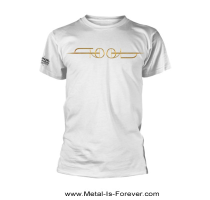 TOOL (トゥール) GOLD ISO 「ゴールド・ISO」 Tシャツ(白)