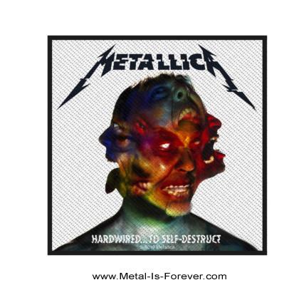METALLICA (メタリカ) HARDWIRED...TO SELF-DESTRUCT 「ハードワイアード...トゥ・セルフディストラクト」 ワッペン
