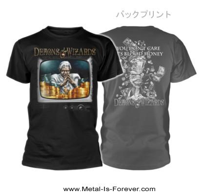 DEMONS & WIZARDS (ディーモンズ & ウィザーズ) MIDAS DISEASE 「ミダス・ディジーズ」 Tシャツ