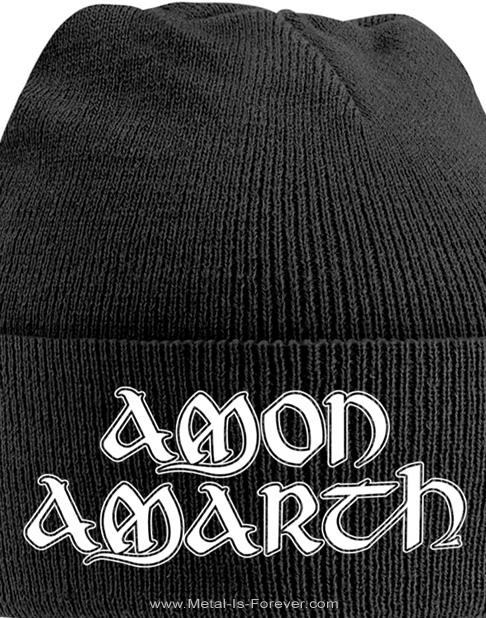 AMON AMARTH (アモン・アマース) LOGO 「ロゴ」 ニットキャップ