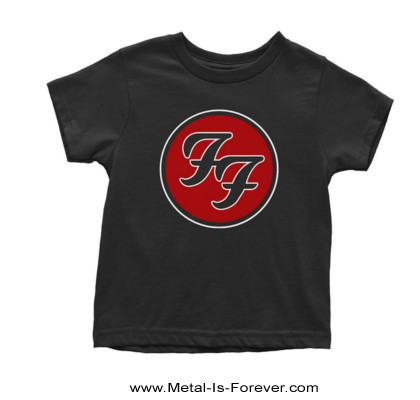 FOO FIGHTERS (フー・ファイターズ) FF LOGO 「FF・ロゴ」 キッズTシャツ