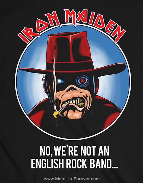 IRON MAIDEN (アイアン・メイデン) NOT AN ENGLISH ROCK BAND 「ノット・アン・イングリッシュ・ロック・バンド」 ツアー Tシャツ
