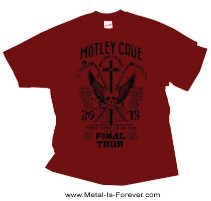 MOTLEY CRUE -モトリー・クルー- FINAL TOUR 「ファイナル・ツアー」 Tシャツ(赤)