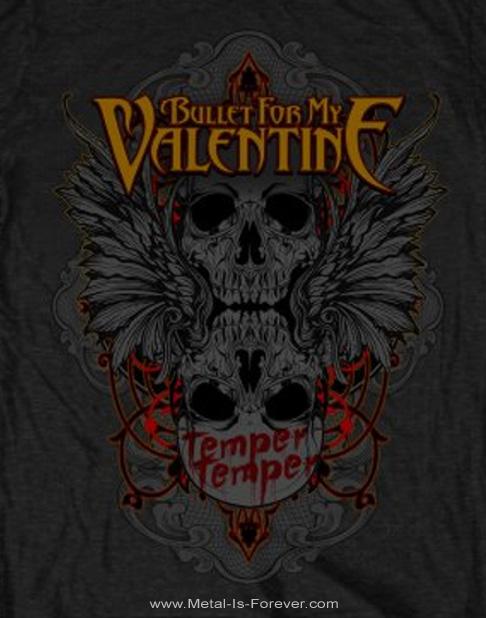 BULLET FOR MY VALENTINE -ブレット・フォー・マイ・ヴァレンタイン- WINGED SKULL 「ウイング・スカル」 Tシャツ