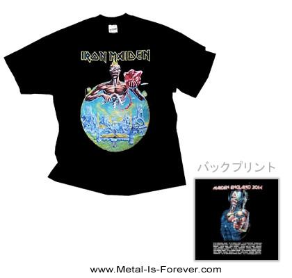 IRON MAIDEN -アイアン・メイデン- MAIDEN ENGLAND 2014 TOUR 「メイデン・イングランド 2014年ツアー」 Tシャツ