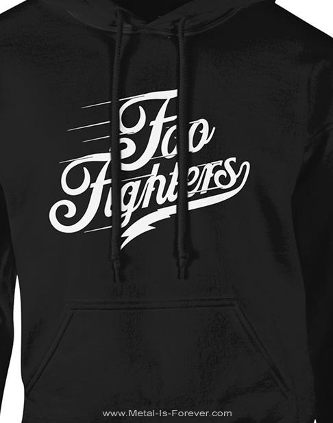 FOO FIGHTERS -フー・ファイターズ- LOGO TEXT 「ロゴ・テキスト」 パーカー