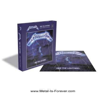 METALLICA -メタリカ- RIDE THE LIGHTNING 「ライド・ザ・ライトニング」 500ピース ジグソーパズル