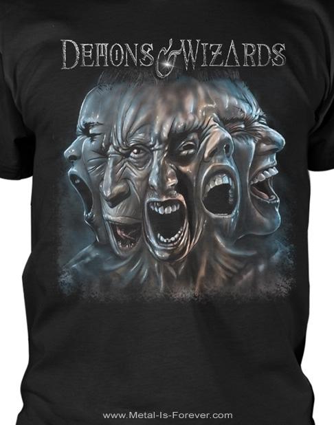 DEMONS & WIZARDS (ディーモンズ & ウィザーズ) SPLIT 「スプリット」 Tシャツ