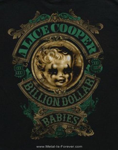 ALICE COOPER -アリス・クーパー- BILLION DOLLAR BABY 「ビリオン・ダラー・ベイビー」 キッズ Tシャツ