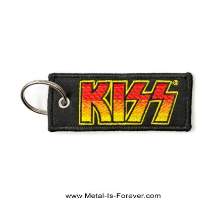 KISS (キッス) CLASSIC LOGO 「クラシック・ロゴ」 ワッペン・キーチェーン