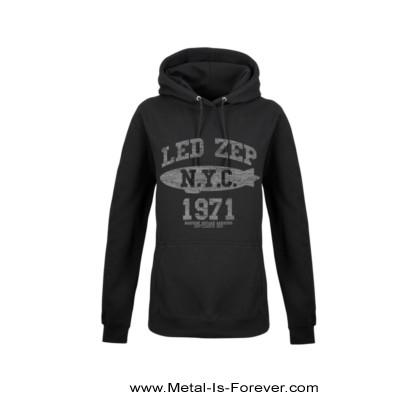 LED ZEPPELIN (レッド・ツェッペリン) LZ COLLEGE 「LZ・カレッジ」 レディース・パーカー