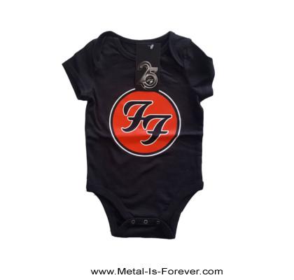 FOO FIGHTERS (フー・ファイターズ) FF LOGO 「FF・ロゴ」 ベビー服