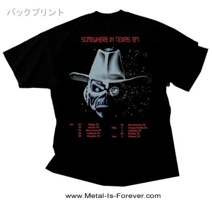 IRON MAIDEN (アイアン・メイデン) STRANGER IN A STRANGE LAND 「ストレンジャー・イン・ア・ストレンジ・ランド」 1987年ツアー Tシャツ