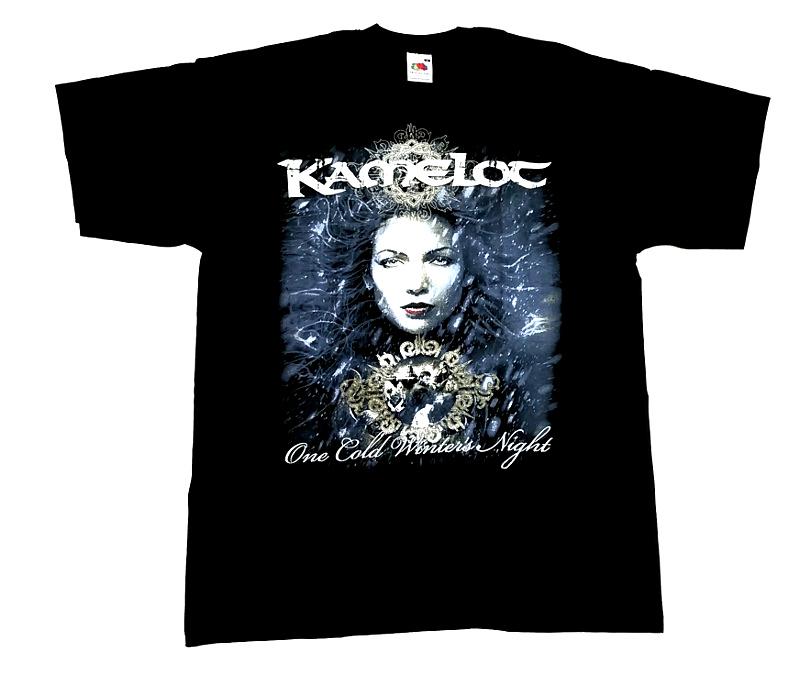 【在庫有り商品】KAMELOT -キャメロット- ONE COLD WINTER'S NIGHT 「ワン・コールド・ウィンターズ・ナイト」 Tシャツ Mサイズ【コレクターズアイテム】