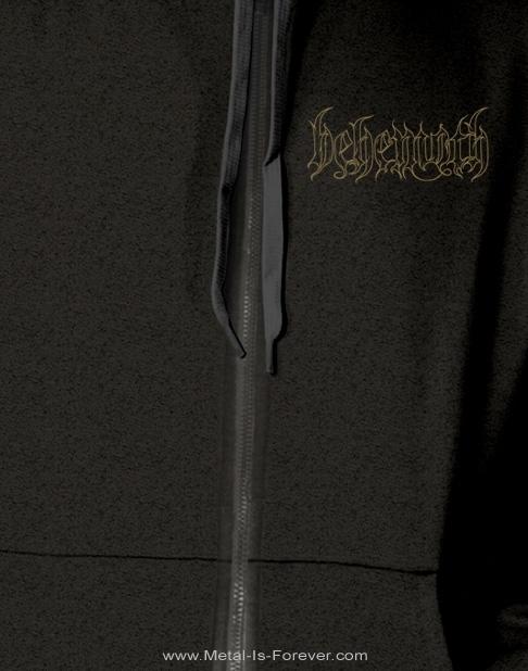 BEHEMOTH -ベヒーモス- DISINTEGRATE 「ディスインテグレイト」 ジップ・パーカー