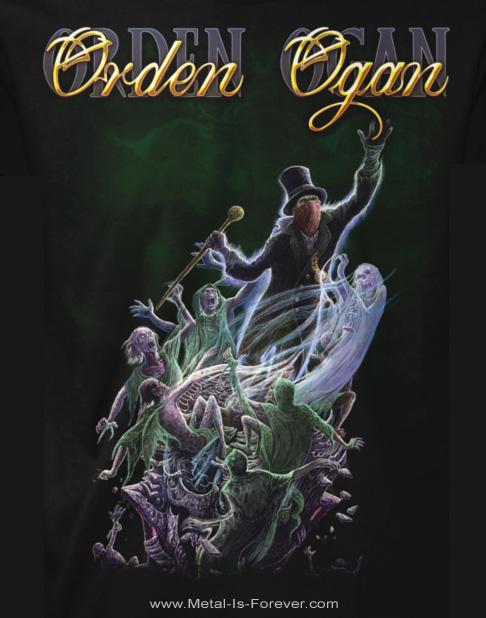 ORDEN OGAN -オルデン・オーガン- THE BOOK OF OGAN 「ザ・ブック・オブ・オーガン」 Tシャツ