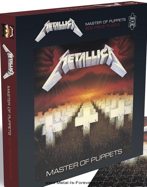 METALLICA -メタリカ- MASTER OF PUPPETS 「メタル・マスター」 500ピース ジグソーパズル