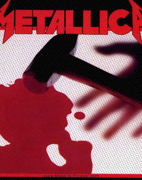 METALLICA (メタリカ) KILL 'EM ALL 「キル・エム・オール〜血染めの鉄槌(ハンマー)」 ワッペン