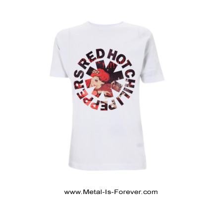 RED HOT CHILI PEPPERS (レッド・ホット・チリ・ペッパーズ) ONE HOT MINUTE ASTERISK 「ワン・ホット・ミニット・アスタリスク」 Tシャツ(白)