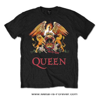 QUEEN (クイーン) CREST 「クレスト」 キッズ Tシャツ