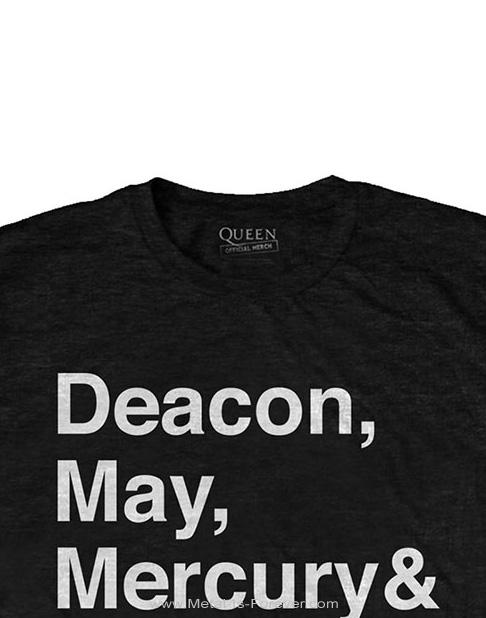 QUEEN (クイーン) HELVETICA 「ヘルベチカ・ロゴ」 Tシャツ
