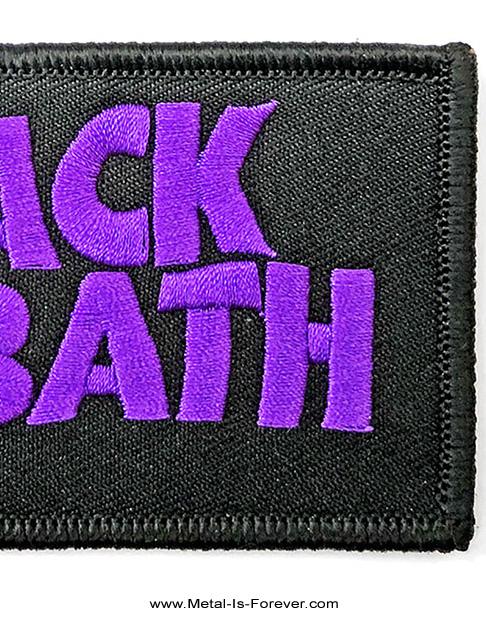 BLACK SABBATH (ブラック・サバス) WAVY LOGO 「ウェイビー・ロゴ」 ワッペン