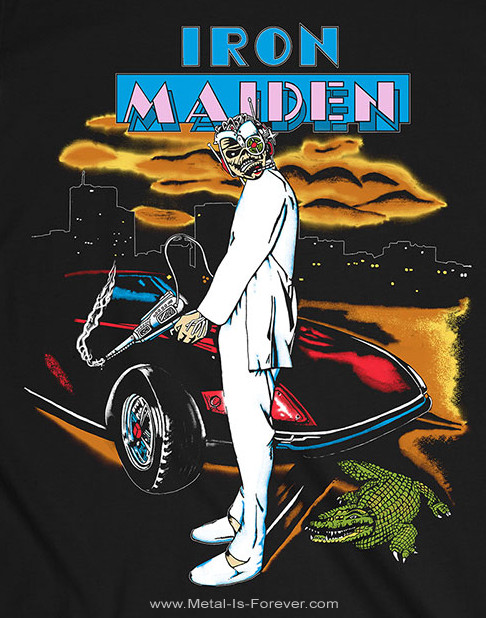 IRON MAIDEN (アイアン・メイデン) VICE IS NICE 「ヴァイス・イズ・ナイス」 1987年ツアー Tシャツ