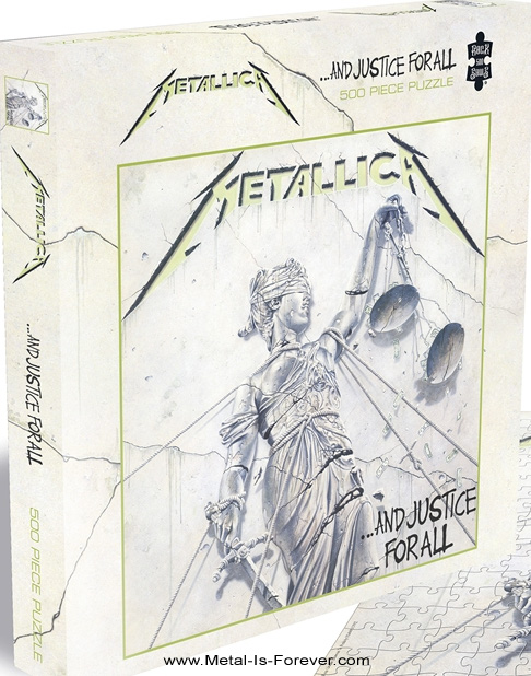 METALLICA -メタリカ- ...AND JUSTICE FOR ALL 「メタル・ジャスティス」 500ピース ジグソーパズル