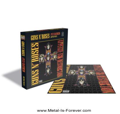GUNS N' ROSES -ガンズ・アンド・ローゼズ- APPETITE FOR DESTRUCTION 「アペタイト・フォー・ディストラクション」 500ピース ジグソーパズル