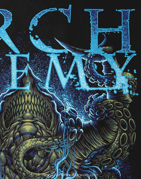 ARCH ENEMY -アーチ・エネミー- SATURNINE 「サタナイン」 Tシャツ