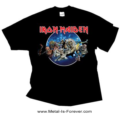 IRON MAIDEN -アイアン・メイデン- WASTED YEARS 「ウエイステッド・イヤーズ」 サークルTシャツ