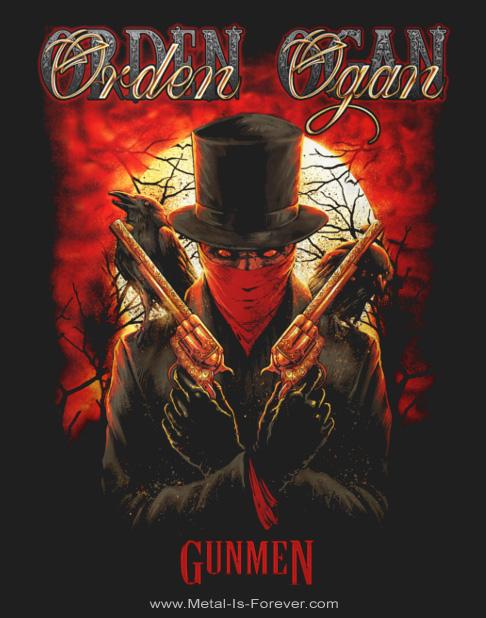 ORDEN OGAN -オルデン・オーガン- GUNMEN LIVE 「ガンメン・ライヴ」 Tシャツ
