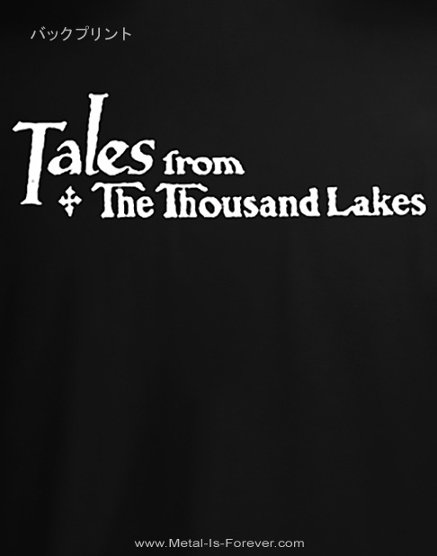 AMORPHIS (アモルフィス) TALES FROM THE THOUSAND LAKES 「テイルズ・フロム・ザ・サウザンド・レイクス」 Tシャツ