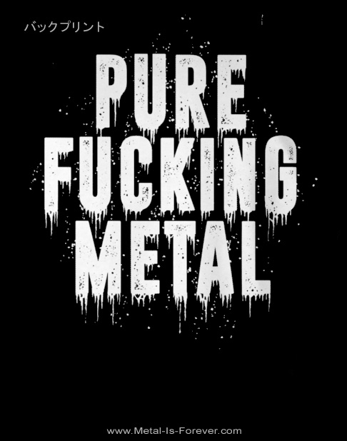 ARCH ENEMY -アーチ・エネミー- PURE FUCKING METAL REVAMPED 「ピュア・ファッキング・メタル・リヴァンプ」 Tシャツ