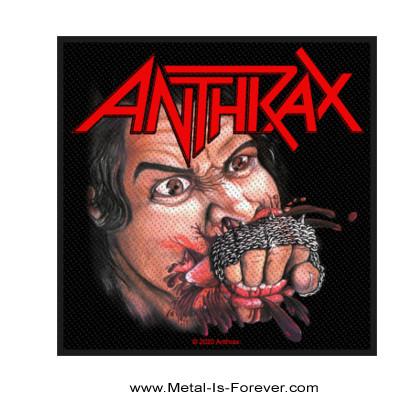 ANTHRAX (アンスラックス) FISTFUL OF METAL 「フィストフル・オブ・メタル」 ワッペン