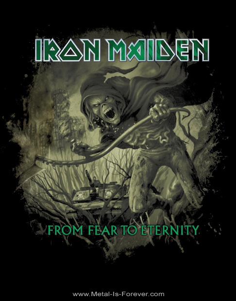 IRON MAIDEN -アイアン・メイデン- FROM FEAR TO ETERNITY 「フロム・フィア・トゥ・エタニティ」 ディストレスト Tシャツ