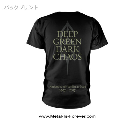 EMPEROR -エンペラー- ANTHEMS TO THE WELKIN AT DUSK 「闇の讃美歌」 2017 Tシャツ