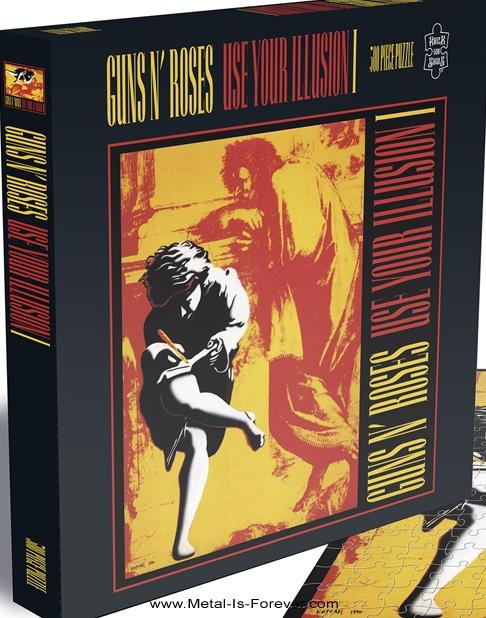 GUNS N' ROSES -ガンズ・アンド・ローゼズ- USE YOUR ILLUSION I 「ユーズ・ユア・イリュージョンI」 500ピース ジグソーパズル