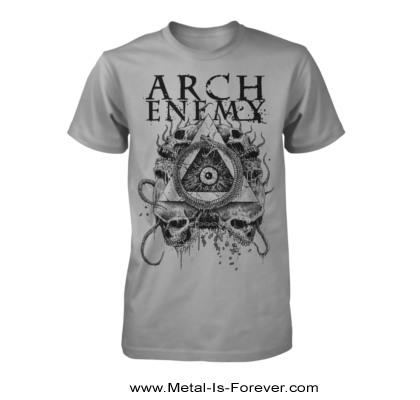 ARCH ENEMY -アーチ・エネミー- PYRAMID 「ピラミッド」 Tシャツ(グレー)