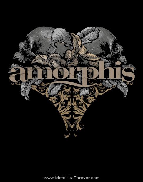 AMORPHIS (アモルフィス) SKULLS 「スカルズ」 Tシャツ