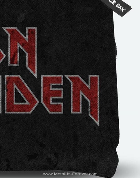 IRON MAIDEN (アイアン・メイデン) LOGO 「ロゴ」 ボディバッグ