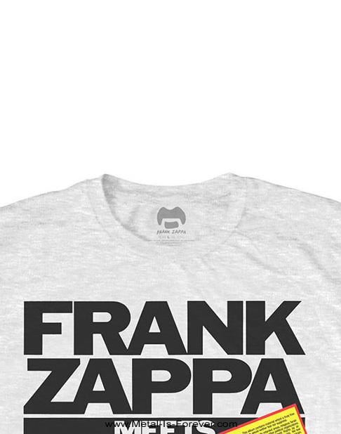FRANK ZAPPA (フランク・ザッパ) THE MOTHERS OF PREVENTION 「ミーツ・ザ・マザーズ・オブ・プリヴェンション」 Tシャツ(白)